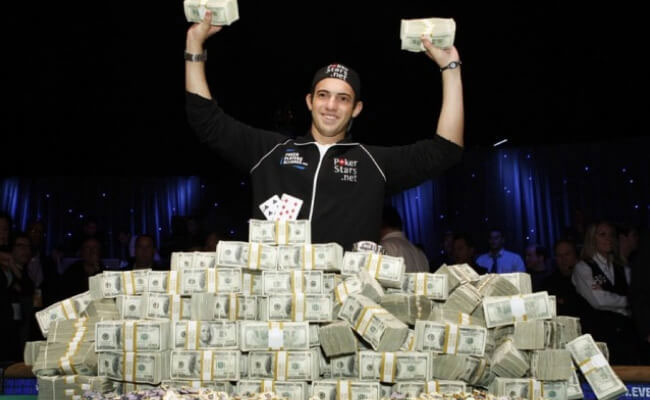 میلیونر شدن در بازی پوکر آنلاین